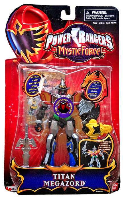 Power Rangers Mystic Force Titan Megazord Action Figure by