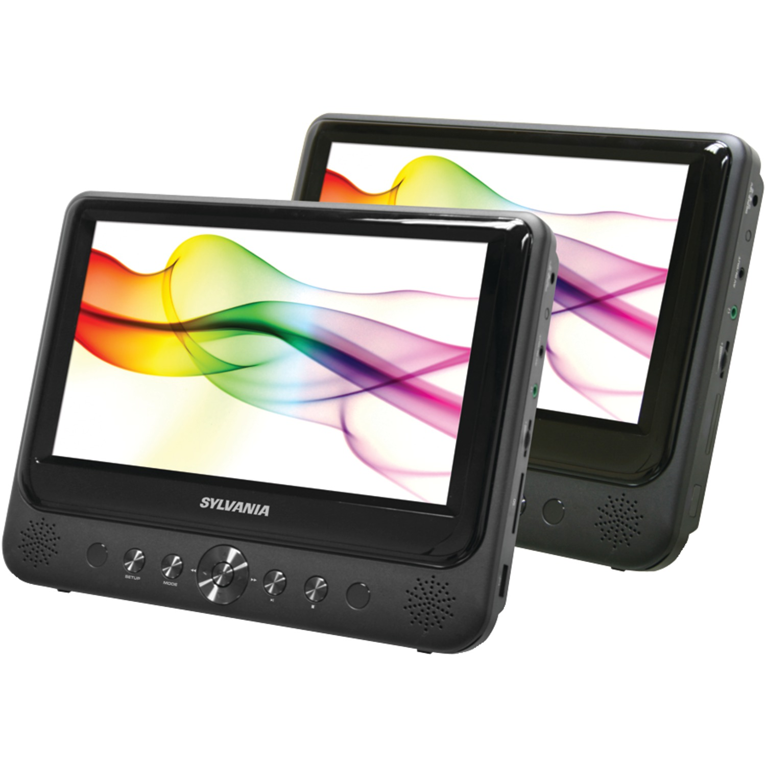 "Sylvania SDVD9805 9"" Dual-Screen Dual-DVD Portable DVD Player"