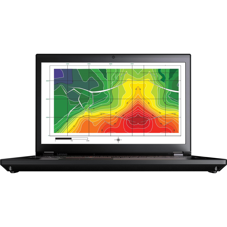 "Lenovo ThinkPad P70 17.3"" Laptop, Windows 7 Professional, Intel Core i7-6700HQ Processor, 16GB RAM, 500GB... by Lenovo"
