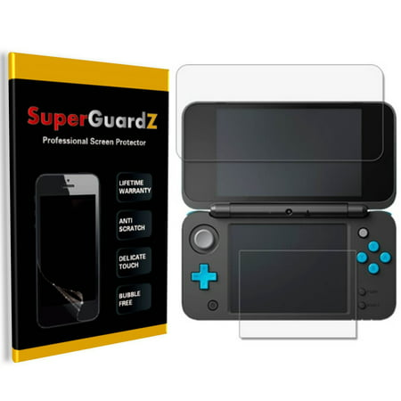 [4-Pack] For Nintendo 2DS XL (2017 Release) - SuperGuardZ Ultra Clear Screen Protector, Anti-Scratch, Anti-Bubble (Replace Ds Lite Touch Screen)