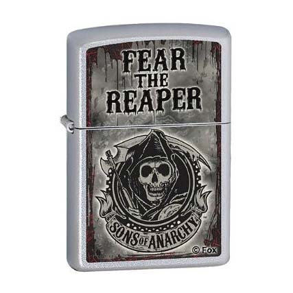 Zippo Sons of Anarchy Satin Chrome Lighter