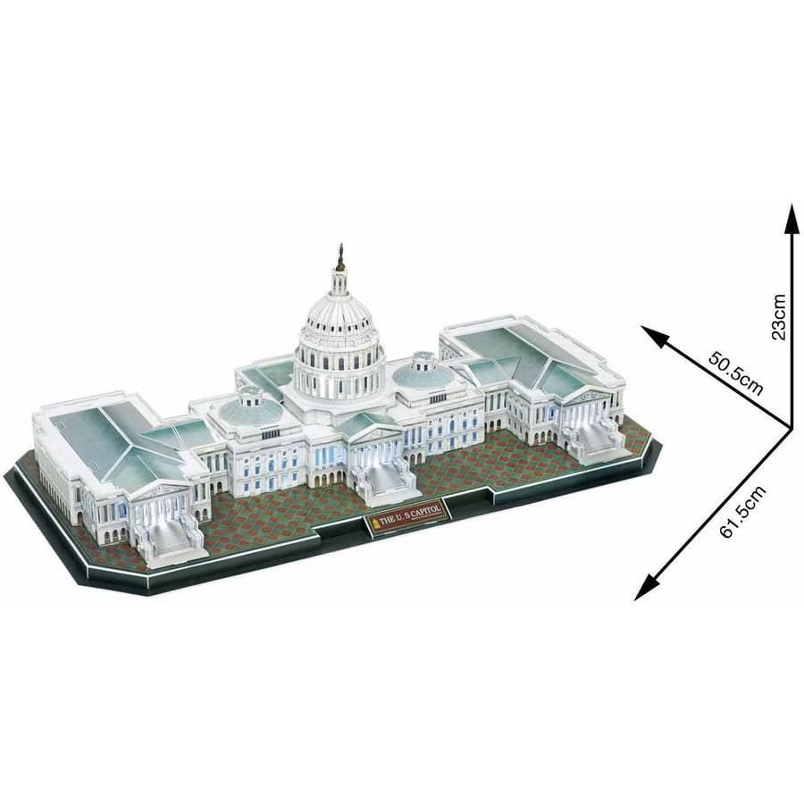 US Capitol 3D Puzzle