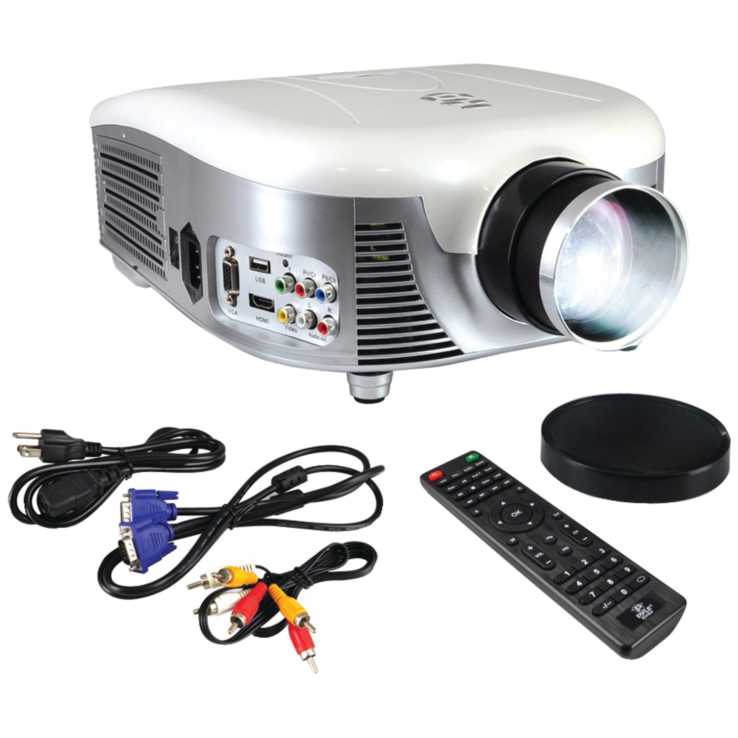 Pyle Home Prjd907 Widescreen 1080p Digital Multimedia Led Projector