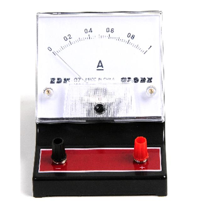 American Educational Products 7-1309-8 Dc Ammeter, Red, 0-1A