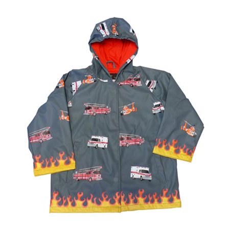 Foxfire FOX-601-85-3T Childrens Fire Rescue Rain Coat - Size