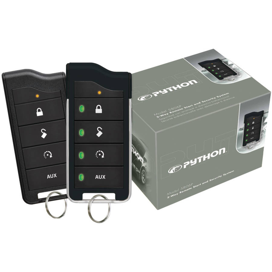 Python 5806p 5806p 2-Way LED Security and Remote-Start System with 1-Mile Range