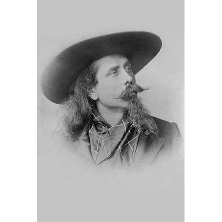 Unknown Buffalo - William F Cody Buffalo Bill Portrait Poster Print by unknown