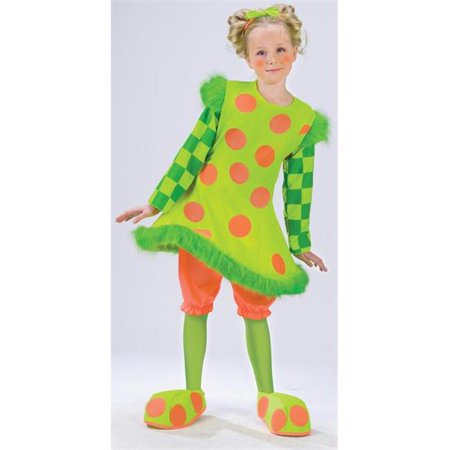 Costumes For All Occasions Fw112552Sm Lolli The Clown Costume Small - Clown Outfits For Sale