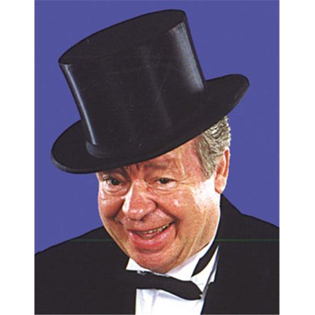 Top Hat Collapsible Black Adul - Collapsible Top Hats