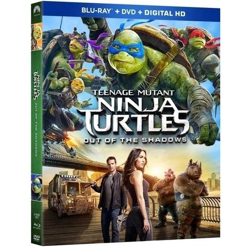 Teenage Mutant Ninja Turtles: Out Of The Shadows (Blu-ray + DVD + Digital HD)