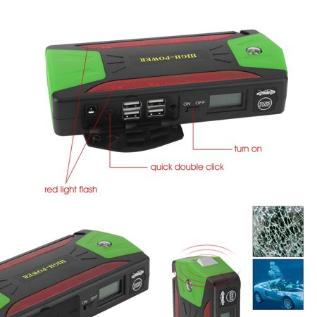 Giants Booster Pack - Portable Car Jump Starter 82800mAh Car Jump Starter Emergency Battery Charger Auto Booster Power Bank