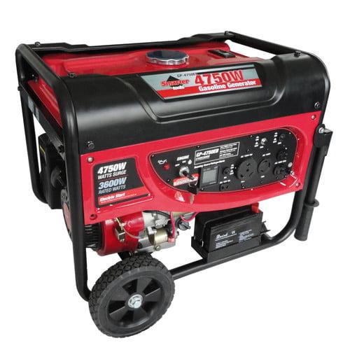Smarter Tools 4750 Watt CARB Portable Gasoline Generator
