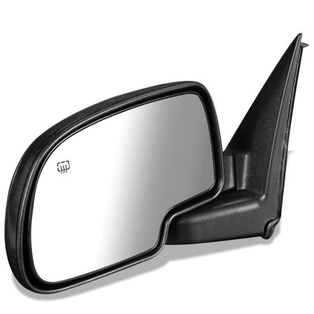 For 2000 to 2006 Chevy Suburban 2500 Tahoe GMC Yukon XL 1500 OE Style Powered+Heated Driver / Left Side View Door Mirror 15179832 01 02 03 04 05 (2008 Tahoe Driver Side Mirror)