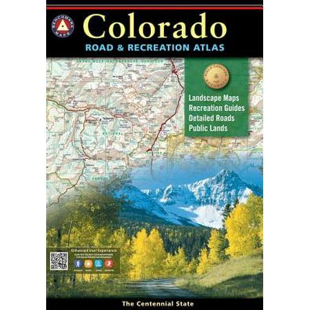 Colorado benchmark road & recreation atlas: