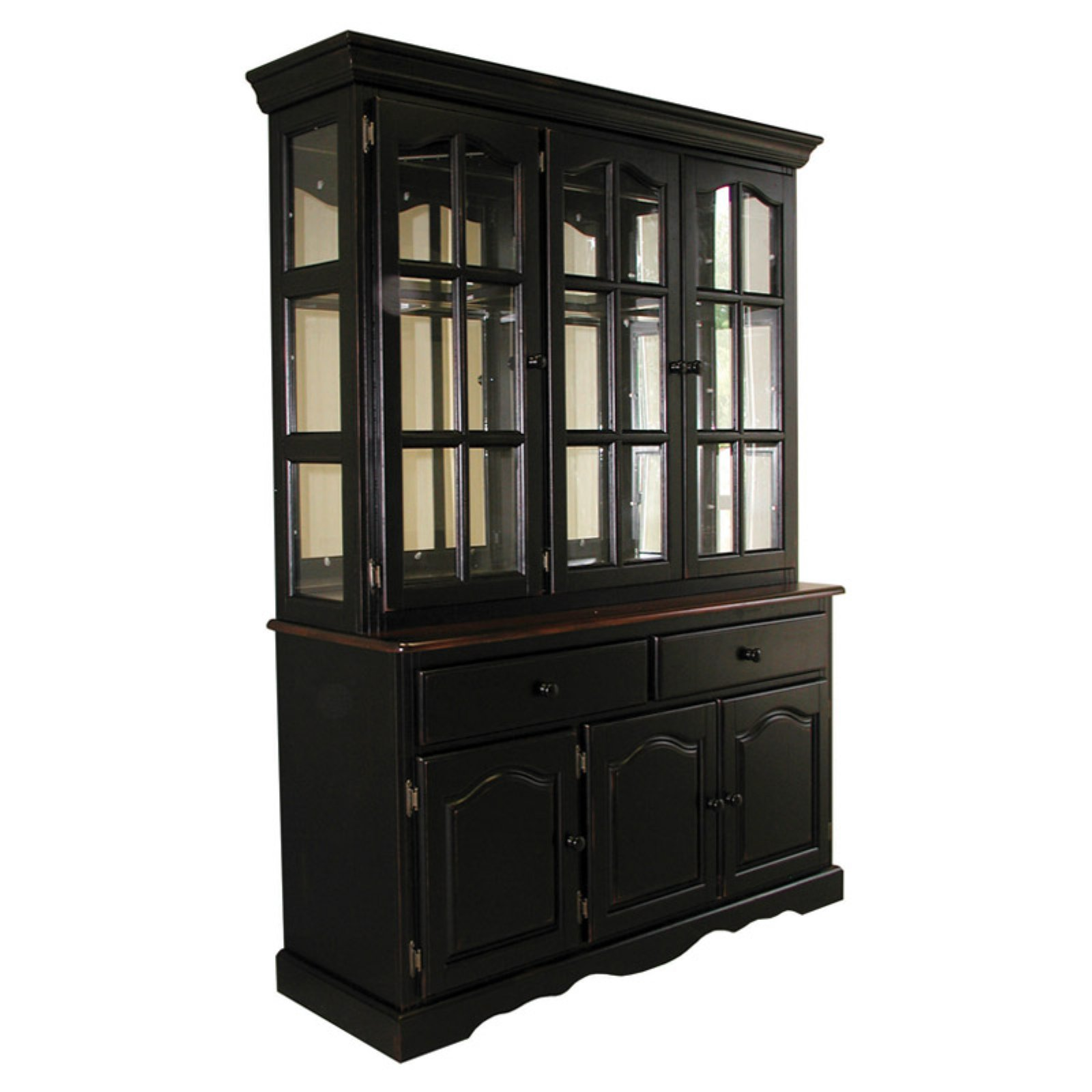 Sunset Trading Manhattan China Cabinet by Sunset Trading