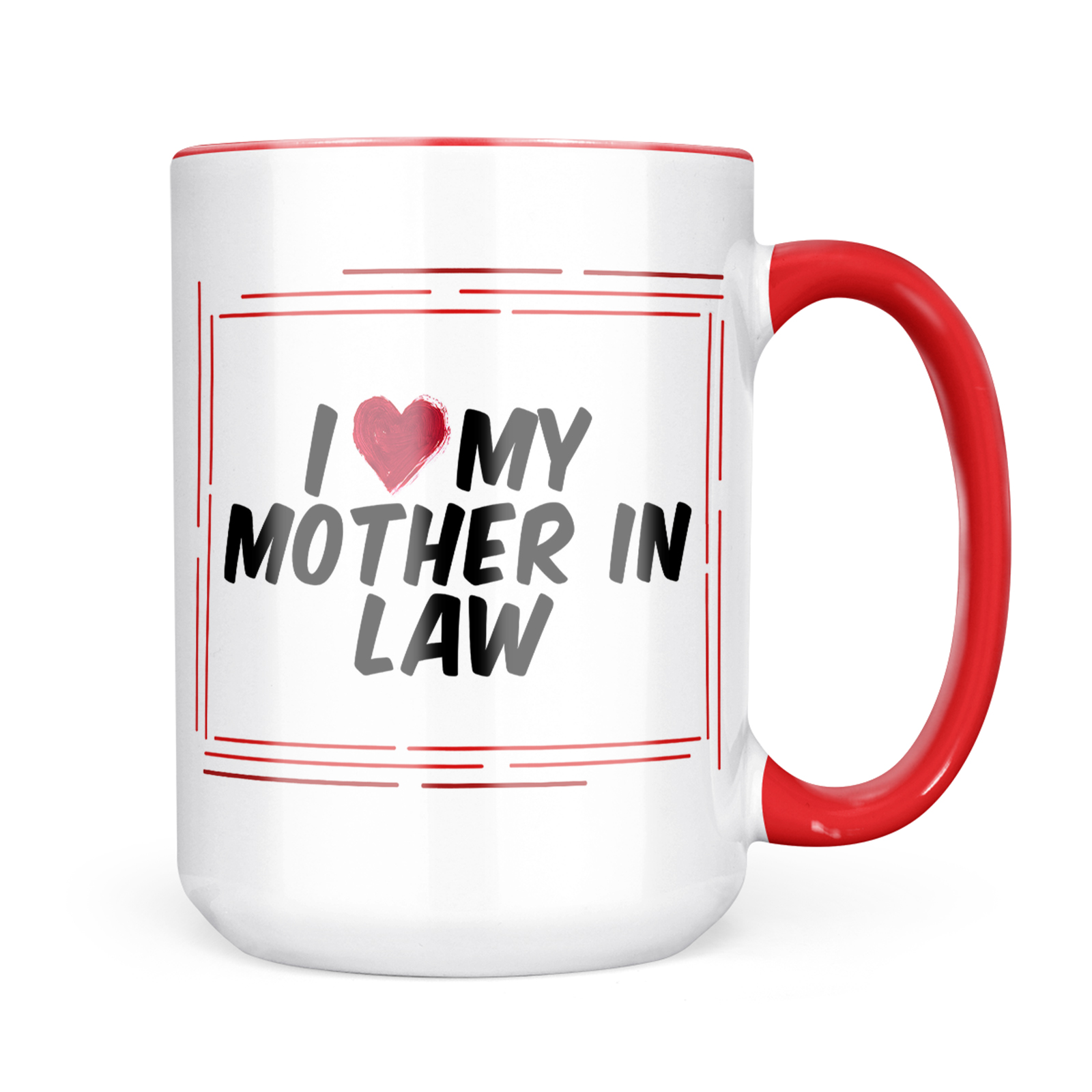 Neonblond I Heart Love My Mother In Law Mug Gift For Coffee Tea Lovers Walmart Com Walmart Com