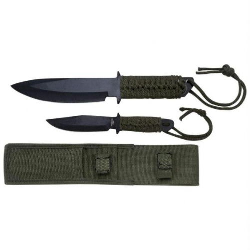 Maxam 2pc Fixed Blade Knife Set