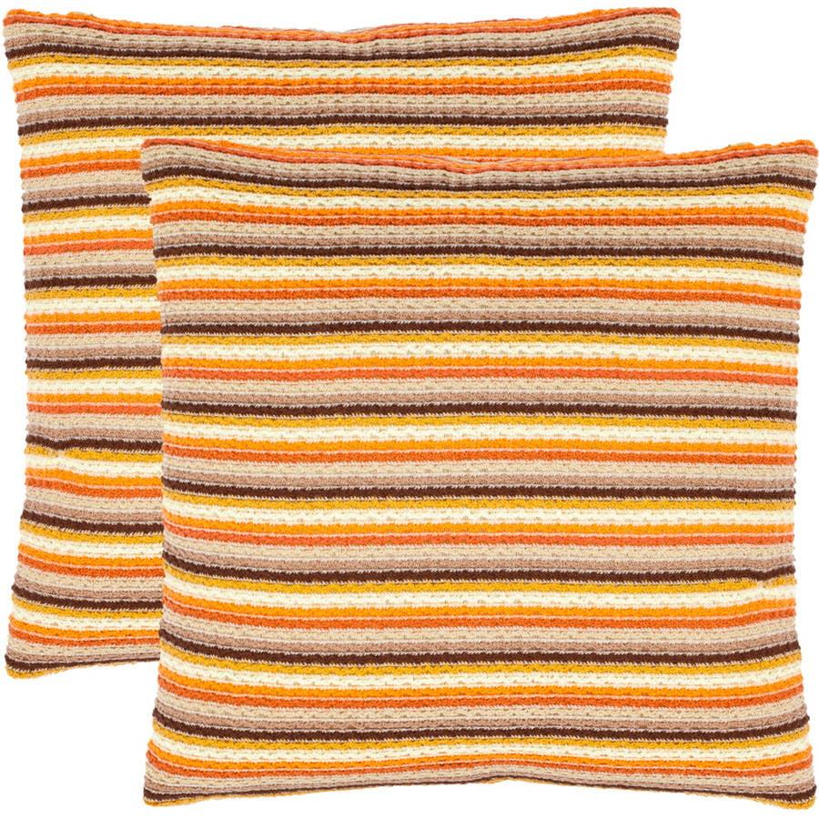 Safavieh Goya Stripe Pillow, Set of 2