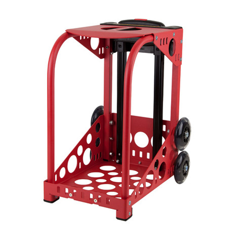 Zuca Red Sport Frame with Flashing Wheels