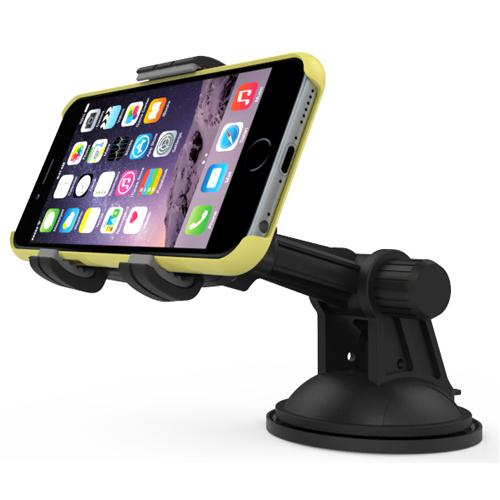 RND Vehicle Charging Dock for iPhone [6 / 6 Plus /6S / 6S Plus/ 5 / 5S / 5C) iPad [Air / Mini) iPod Touch [Compatible with or without a case) [Black)
