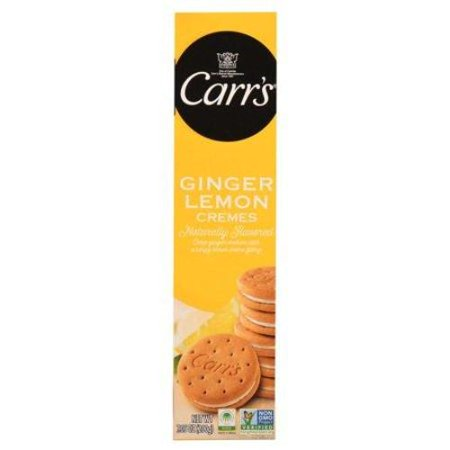 Carrs Ginger Lemon Cremes Cookies, 7.05 oz (200 g)
