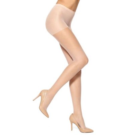 HUE Womens Run Resistance Sheer Control Top Pantyhose Style-16286 Hue Opaque Control Top Tights Pantyhose