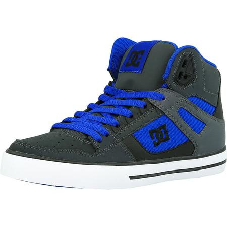 987d7e5d98ebb3 Dc Men s Spartan High Wc Nautical Blue Ankle-High Leather Skateboarding Shoe  - 9M - Walmart.com