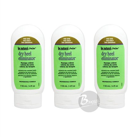 Dry Heel Eliminator - Be Natural Dry Heel Eliminator 3 pack, Dry Heel Eliminator Nourishes, repairs and hydrates the skin. By ProLinc