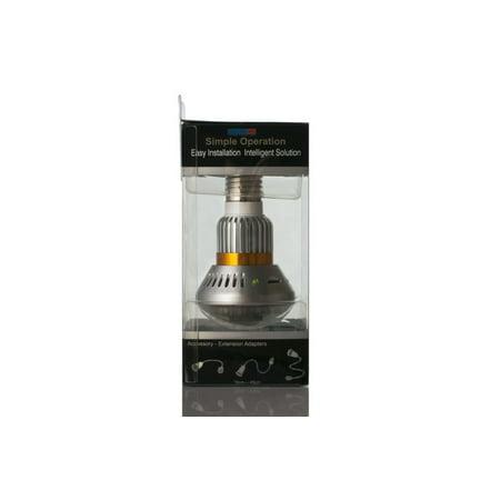 Discrete Bulb DVR Security Camera Bulb Video Camcorder - image 1 of 9