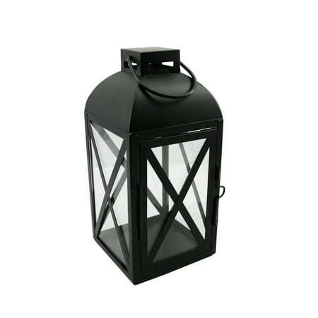 Mainstays Black Metal Lantern, Small