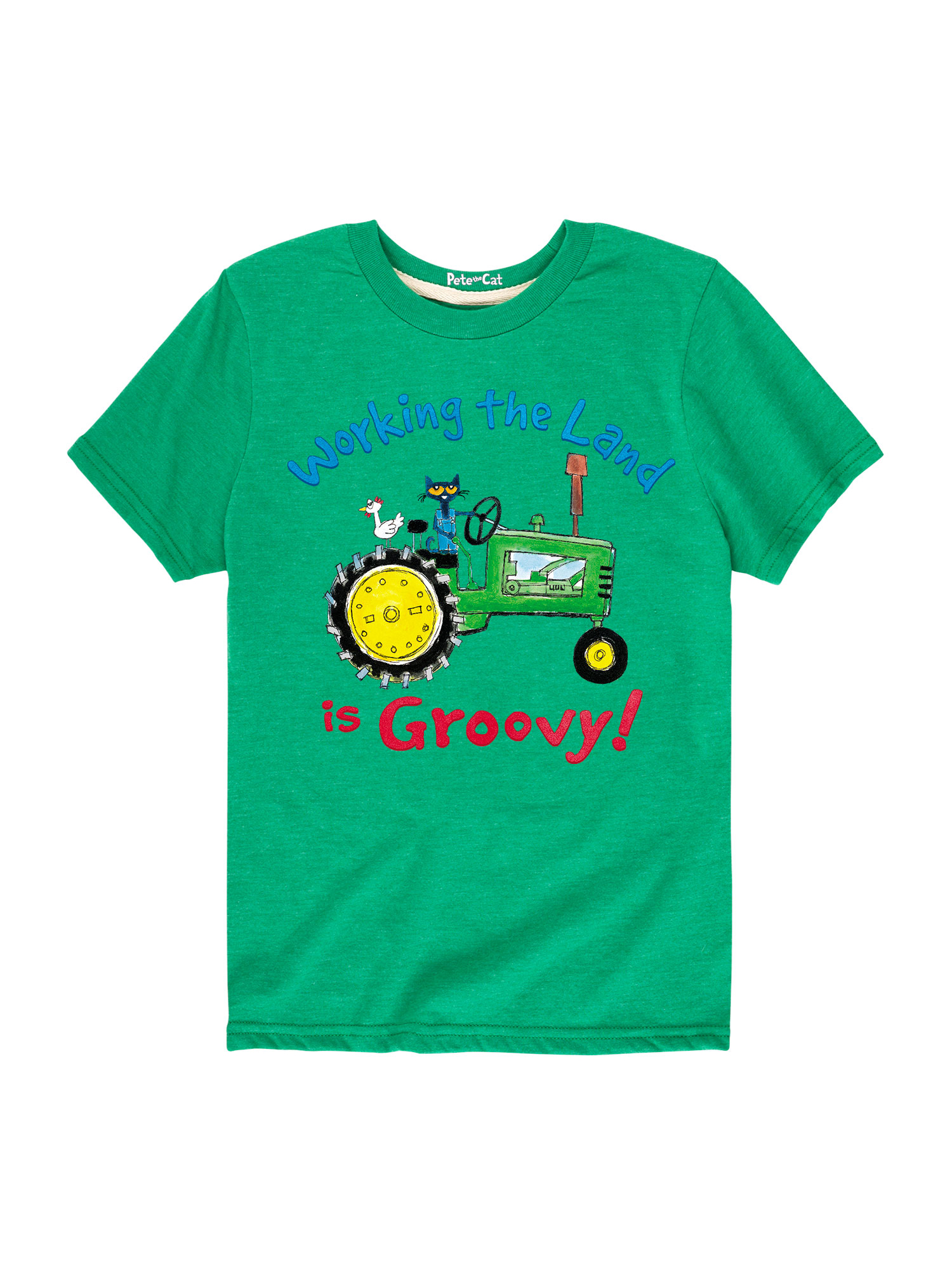 Pete The Cat Working The Land - Toddler Short Sleeve Tee