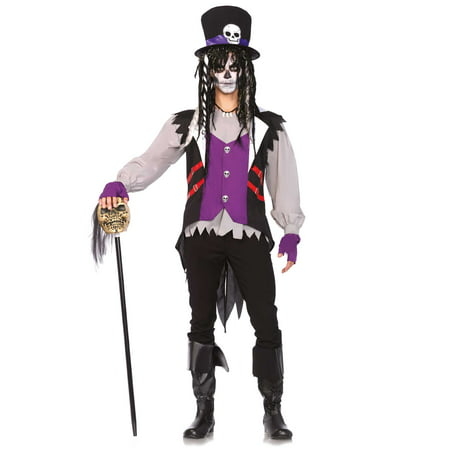 Leg Avenue Voodoo Priest 5-Piece Adult Halloween Costume - Catholic Priest Costume