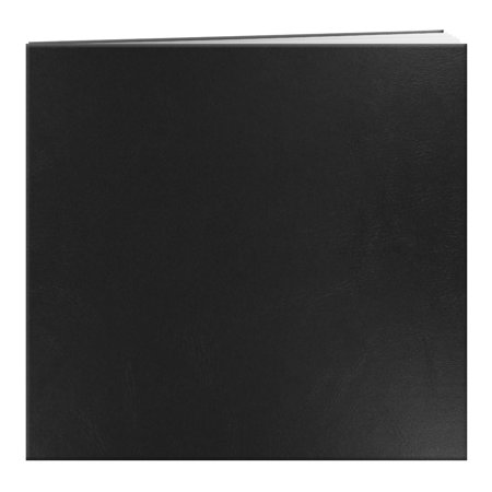 Pioneer Photo Albums 12x12 Top Loading Scrapbook, Black