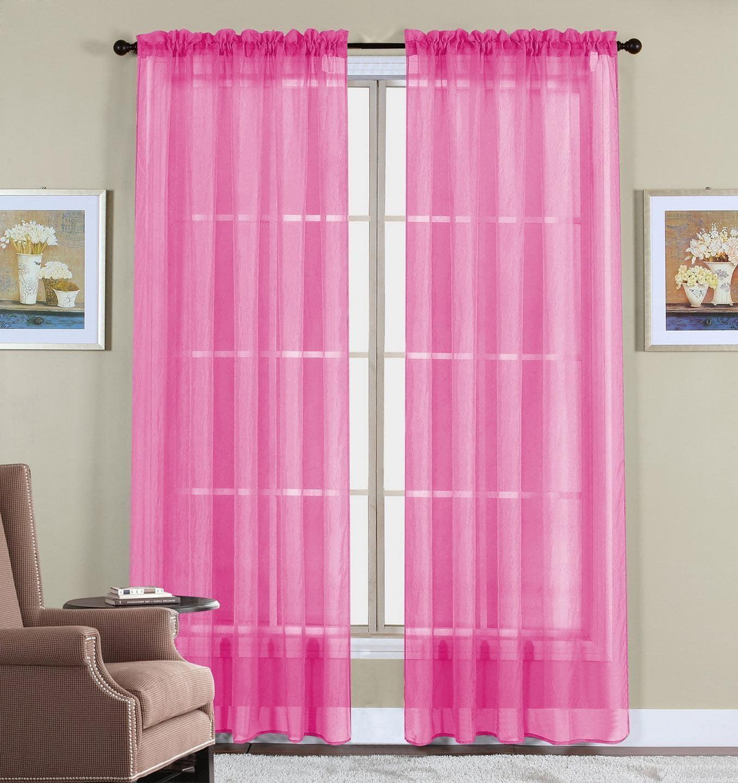 Wpm 60 X 63 Inches Sheer Window Elegance Curtainsdrapepanels