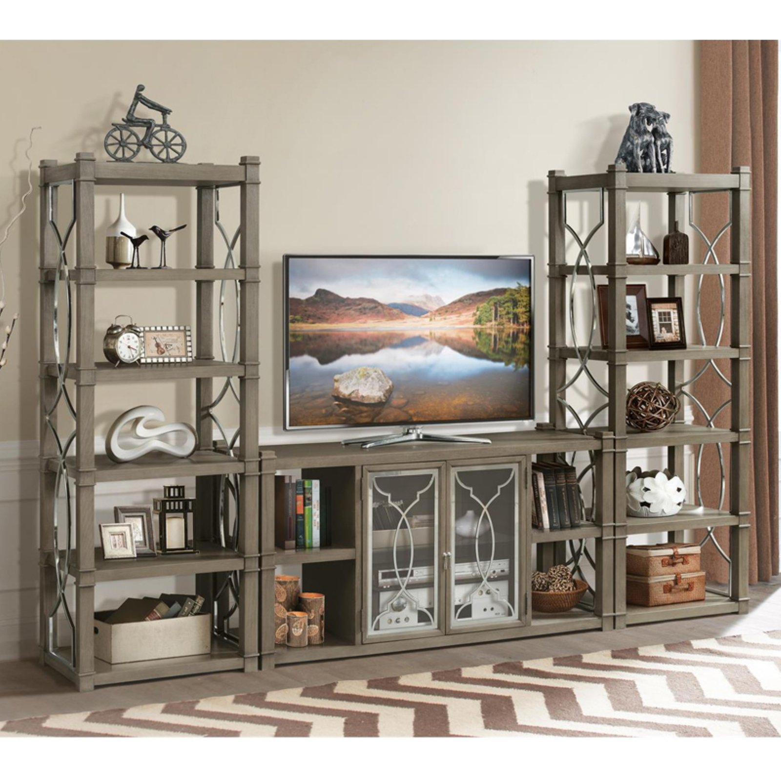 Riverside Furniture Dara Two Entertainment Center