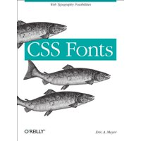 CSS Fonts: Web Typography Possibilities (Paperback)