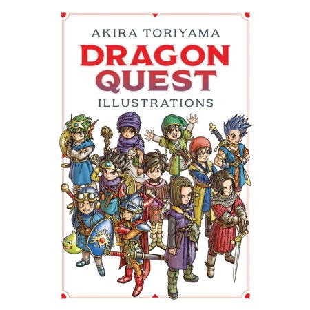 Dragon Quest Illustrations: 30th Anniversary (Dragon Quest 9 Sentinels Of The Starry Skies)