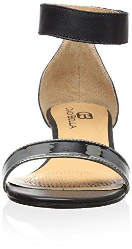 Ciao Bella Women's Wilson Wedge Sandal, Black/Pewter, 6.5 M US