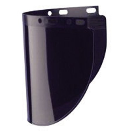Fibre Metal Model 4178 8   X 16 1 2   X  060   Green Shade 5 Propionate Molded Wide Vision Faceshield Window
