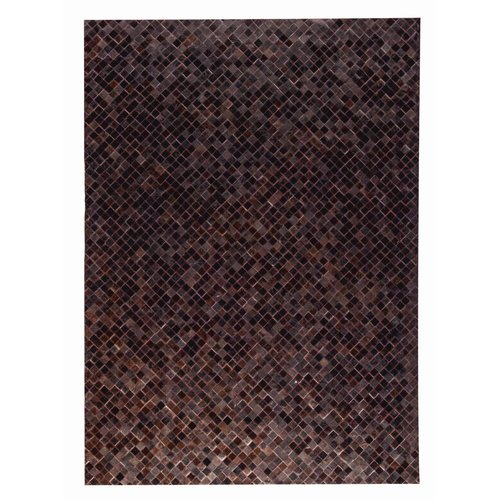 M.A. Trading Chess Hand woven Black/Brown Area Rug