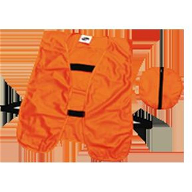 Guntersville Breathables 0919 Blaze Orange Packable Safet...