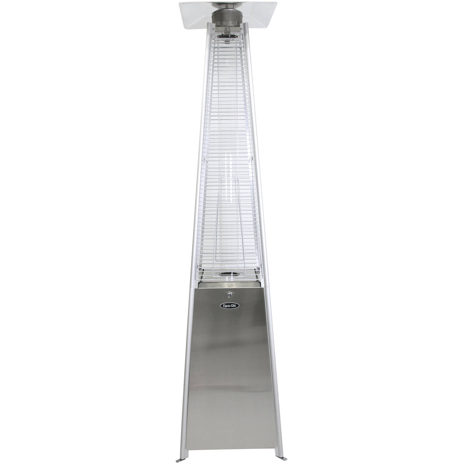 Dyna Glo DGPH302SS 42,000 BTU Stainless Steel Pyramid Flame Patio Heater