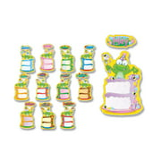 Carson Birthday Frog Bulletin Board Decoration Set