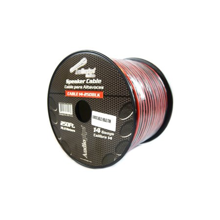 Speaker Wire 14 GA 250 Feet Red Black Stranded Copper Clad Home Audio (Best Cheap Wired Speakers)