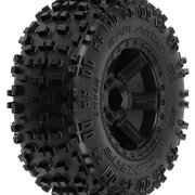 1173-12 Badlands 2.8  All Terrain Tires Mounted Front Multi-Colored