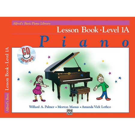Alfred's Basic Piano Library Lesson Book, Bk 1a for $<!---->
