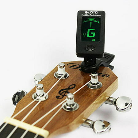 HiCoup Chromatic Clip-On Digital Tuner for Acoustic Electric Guitar Bass Violin Ukulele