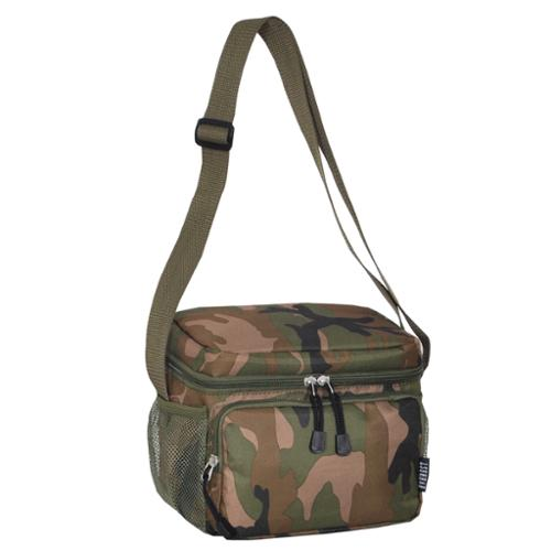 Everest Woodland Camo Shoulder Lunch Tote