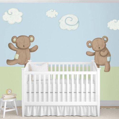 My Wonderful Walls Teddy Bears and Cloud Wall Stickers by My Wonderful Walls