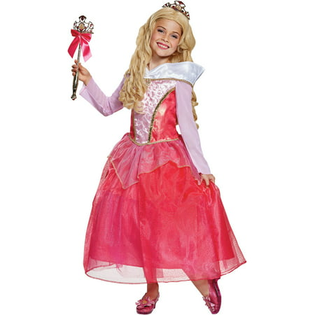 Sleeping Beauty Aurora Deluxe Child Halloween Costume](Cleo Beauty Halloween Costume)